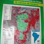 Corredor biodiversidade mapa
