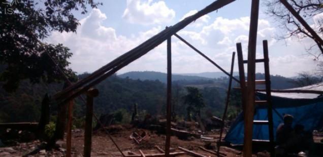 Guarani realizam ato no TRF3 contra reintegração de posse na TI Jaraguá (SP)