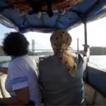 A fronteira é o Rio a ponte na frente
