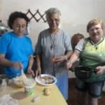 Juntas em casa em Oiapoque